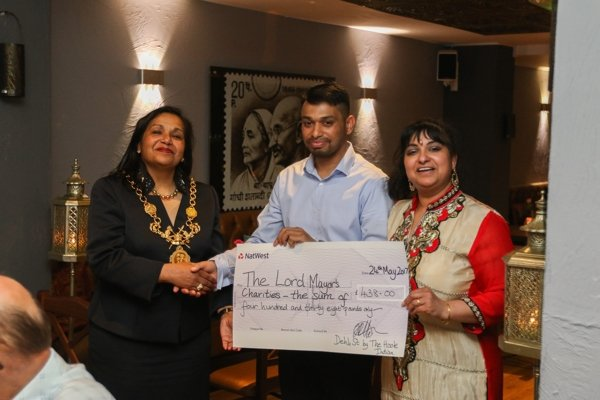 Lord Mayor Cllr Razia Daniels hosts 1st supper club