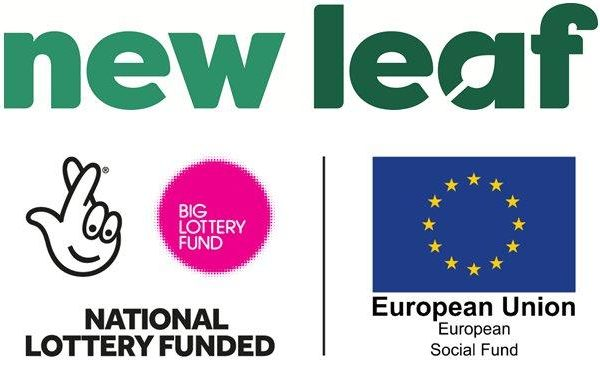 New Leaf | National Lottery Funded | EU Social Fund