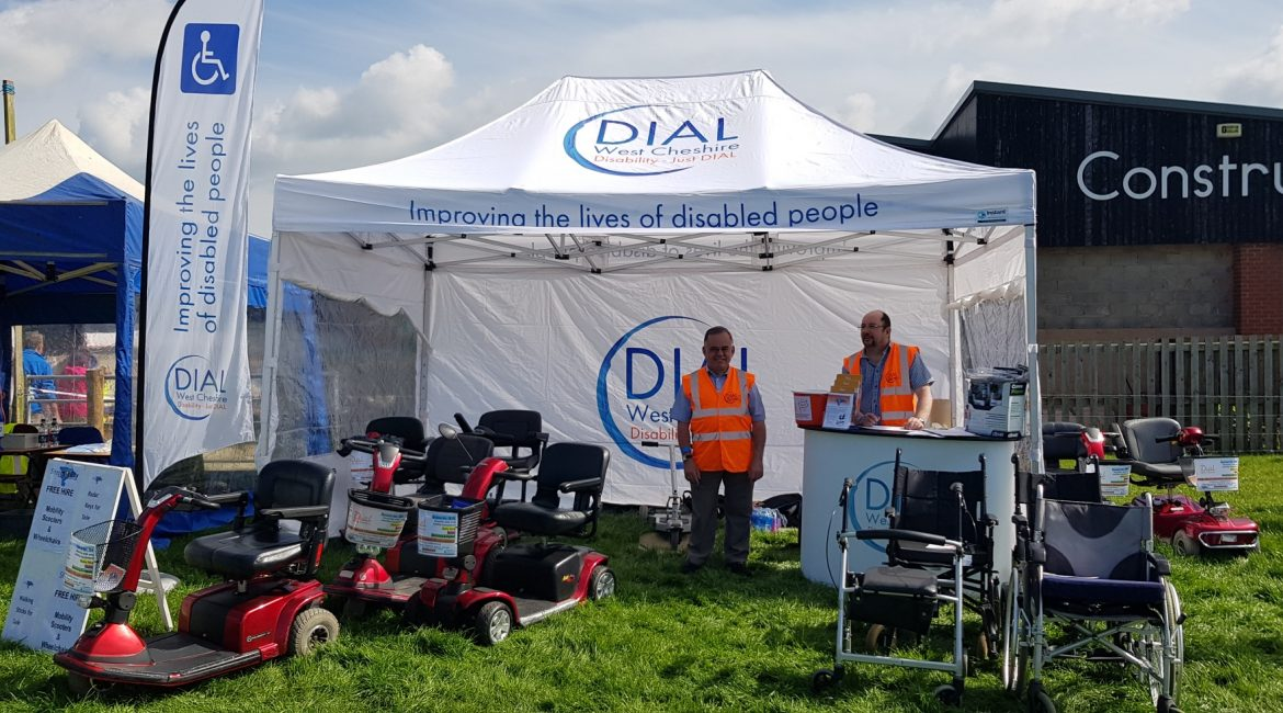 Support with disabled access at Reaseheath College Family Festival