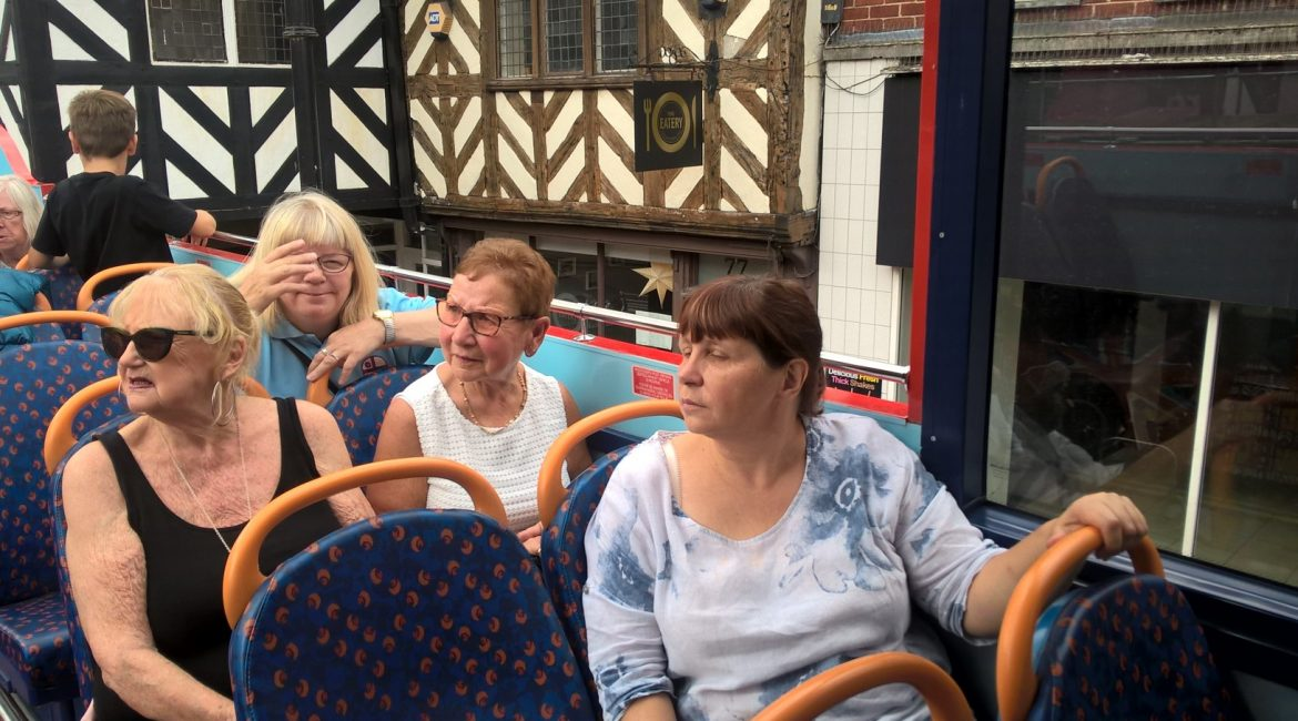 T-Club enjoy a City Sightseeing Tour