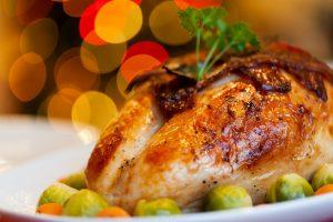Chicken Christmas Dinner