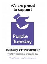 Purple Tuesday poster