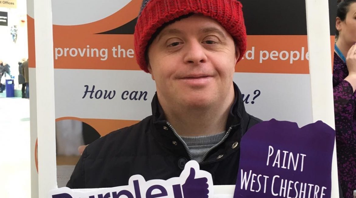 We are set to Paint West Cheshire Purple for Purple Tuesday, Championing Accessibility across West Cheshire