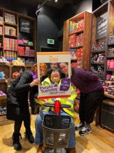 The team at Lush, Chester taking part in 2019